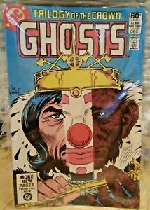 DC Ghosts~#107~Trilogy if the Crown~1981 60c~fn+