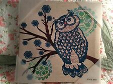 Owl Framed Canvas Picture Art Teen Kids NWT Target Decor 12 x12 FREE SHIPPING
