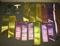 Vintage Lot Photography Awards Medals Ribbon 1970s Tri-County Camera Club 1970s