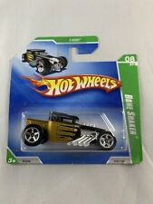 Hot Wheels - 2008 Bone Shaker Treasure Hunt Large Wheel Ver. - BOXED SHIPPING