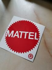 Mattel Toys Logo 4 Inch Vinyl Car / Wall Decal Masters Of The Universe Barbie