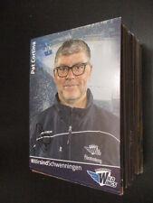 68243 Pat Cortina Schwenningen Hockey su ghiaccio originale con firma autografo cartolina