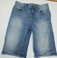 "Mossimo Womens Size 28"" Waist Denim Jean Shorts Bermuda Stretch Shorts"