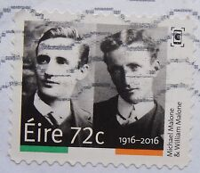 IRELAND EASTER RISING 1916 72 CENT STAMP MICHAEL AND WILLIAM MALONE