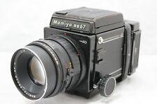 Mamiya RB67 Pro SD Medium Format Film Camera Sekor SF C 150mm Lens From Japan