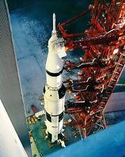 Saturn 5 Apollo 12 Booster 11x14 Silber Halogen Fotodruck