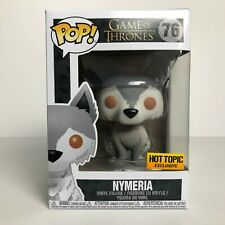 Funko POP Nymeria #76 Direwolf Wolf Game of Thrones Hot Topic Exclusive