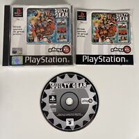 Guilty Gear | PS1 PlayStation 1 | PAL Game | Complete With Manual Good Condition