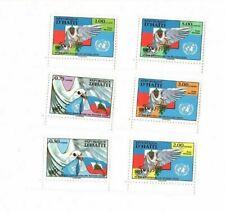 Haiti 1996 - Scott 866-71 - United Nations - Set of 6 Stamps - MNH