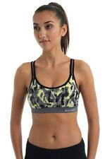 Blockout Animal Print Fitness Bra Crop Top Size Large (12) NWT