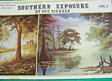 SOUTHERN EXPOSURE V1 SUE SICKELS 1985 SCHEEWE OIL LANDSCAPES RARE PAINT BOOK