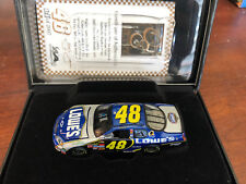 2007 Jimmie Johnson Lowes 1:64 ELITE car HOTO 1 of 2007
