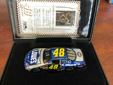 2007 Jimmie Johnson Lowes 1:64 ELITE car HOTO 1 of 2007 Champion Year