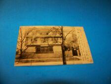 Delta Gamma Sorority  Madison, Wisconsin   Vintage Postcard 1907  RPPC