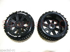 Louise RC  1/8 Buggy Rock Tire with Black Spoke Wheel 2pcs #L-T3270SB
