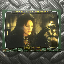 """STAR WARS 2007 30TH ANNIVERSARY GOLD CARD """"CHARAL THE NIGHTSISTER"""" 22/30 #97"""