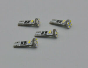 4x noerror led light bulb For BMW 5 Series E60 E61 Pre LCI Angel Eye Halo Ring