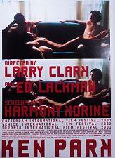 Ken Park 2002 Larry Clark Harmony Korine Japanese Mini Poster Chirashi Japan B5