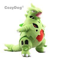 "Mega Tyranitar Plush Teddy Soft Toy Doll Stuffed Animal 14"" Figure Kdis Gift"
