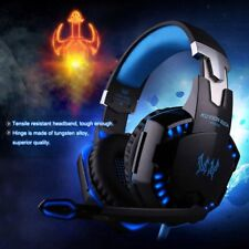 3.5 mm Gaming Kopfhörer mit Mikrofon Headset für PC Mac Laptop PS4 Xbox One