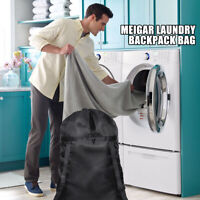 24X36 INCH Laundry Bag Backpack Travel Storage Drawstring Dirty Clothes Holder