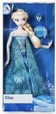 Genuine Disney Store Elsa Classic Doll with Ring - Frozen - 11 1/2''