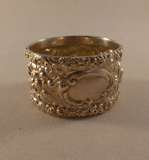 "Rose-Stieff Sterling Napkin Ring-1"" Wide"