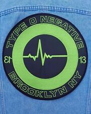 Type O Negative embroidered back patch gothic doom metal pete steele danzing