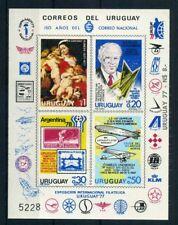 Uruguay Faksimili MiNr. 1453-56 postfrisch/ MNH UREXPO 1977 (OZ940