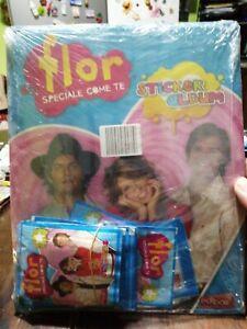 Flor Speciale Come Te Sticker Album Edibas Con Figurine Nuovo Sigillato