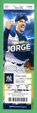 Yankees Alex Rodriguez AROD 3000 Hit Season Ticket 6/19/2015  Posada