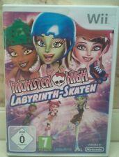 Monster High Labyrinth-Skaten für Nintendo Wii +Anl. (dt.) - Top Zustand!
