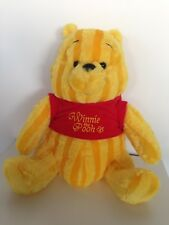 * Brand New * Striped Winnie the Pooh Plush (Special Edition)