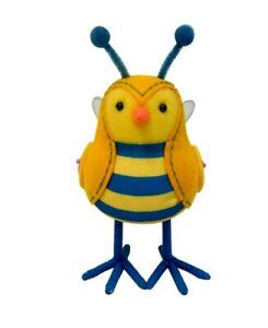 Target Bee Bird 2021 Spritz Yellow Breezy Bee Fabric Bird Featherly Friends