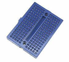 2PCS Mini Blue Solderless Prototype Breadboard 170 Tie-points for Arduino