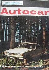 Autocar magazine 16/4/1965 featuring Jensen C-V8 road test, Cosworth