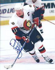 Daniel Alfredsson Autograph Ottawa Senators Photo
