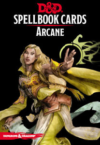 Arcane Spell Deck (revised): Dungeons and Dragons 5th Edition