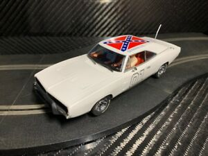 PIONEER SLOT CAR UNBOXED GENERAL LEE DODGE CHARGER - COMPATIBLE SCALEXTRIC DPR