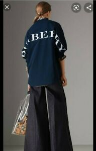 Burberry Biglogo Back Print Sweatshirt