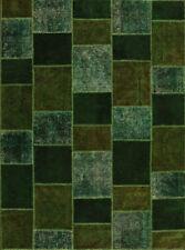 Tappeti verde rettangoli per bambini senza inserzione bundle