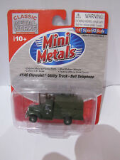 41/46 Chevrolet Utility Truck Bell Telephone 30304 Classic Metal Works 1 87