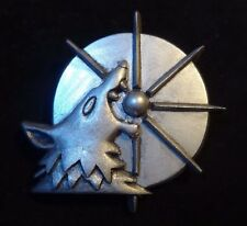 40k Space Wolf Harald Deathwolf's company badge pin