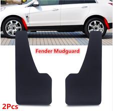 MUD FLAPS SPLASH guardias 2Pcs Coche de Plástico Negro Rueda moldeo Fender mudguard