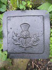 "plaster cement thistle plastic travertine tile mold 6"" x 6"" x 1/3"""