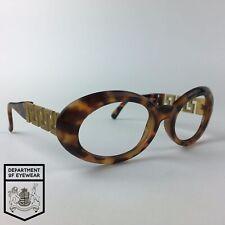GIANNI VERSACE eyeglasses TORTOISE OVAL glasses frame MOD: 527/T COL.869