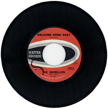 """THE SHIRELLES  """"WELCOME HOME BABY""""  STUNNING 60's    LISTEN!"""