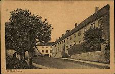 Bad Iburg AK 1921 Schloss Palast Burg mit guter Dt. Reich Mischfrankatur Marken