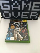 Xbox Game Star Wars Battlefront with booklet. Game Over Australia