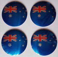 New Australia Flag Design Car Wheel Center Cover Decor Sticker Emblem 56MM